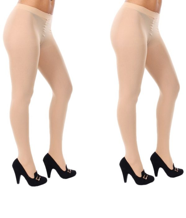 Check out this pack of two extremely comfortable stockings from the storehouse of Golden Girl that is a must have for you. You can style any of these stockings with a black tunic or short dresses. It is made from the finest fabric that ensures comfort and comes with ample stretch. It is perfect for all body types while keeping you comfy and sweat free. This gorgeous pair of sheer stockings from the house of Golden Girl is the best thing to show off your shapely legs in. Pair it with an elegant short dress, minimal jewellery, and glossy stilettoes and look breathtakingly stunning.